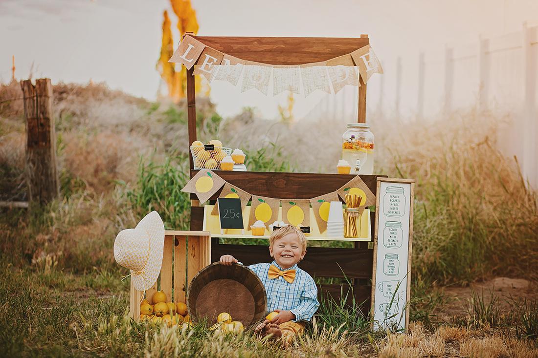 The Lemonade Stand | Twin Falls Childhood Photographer